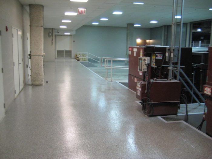 Shipping & Receiving Dock Flooring