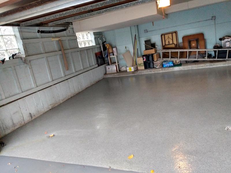New Garage Flooring