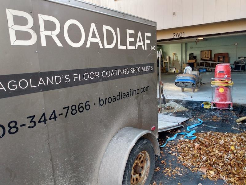 Broadleaf Garage Flooring