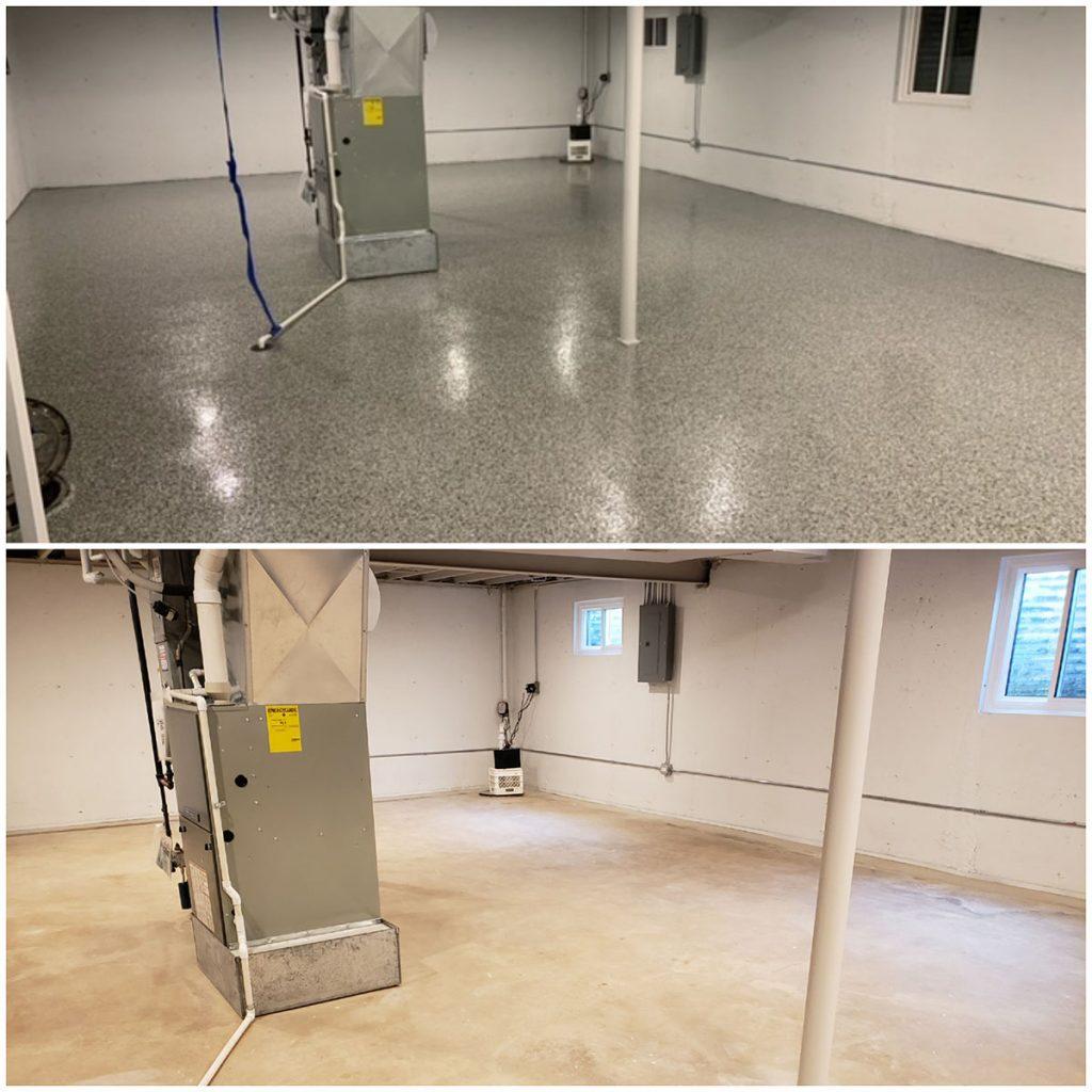 Basement Epoxy Floor 1