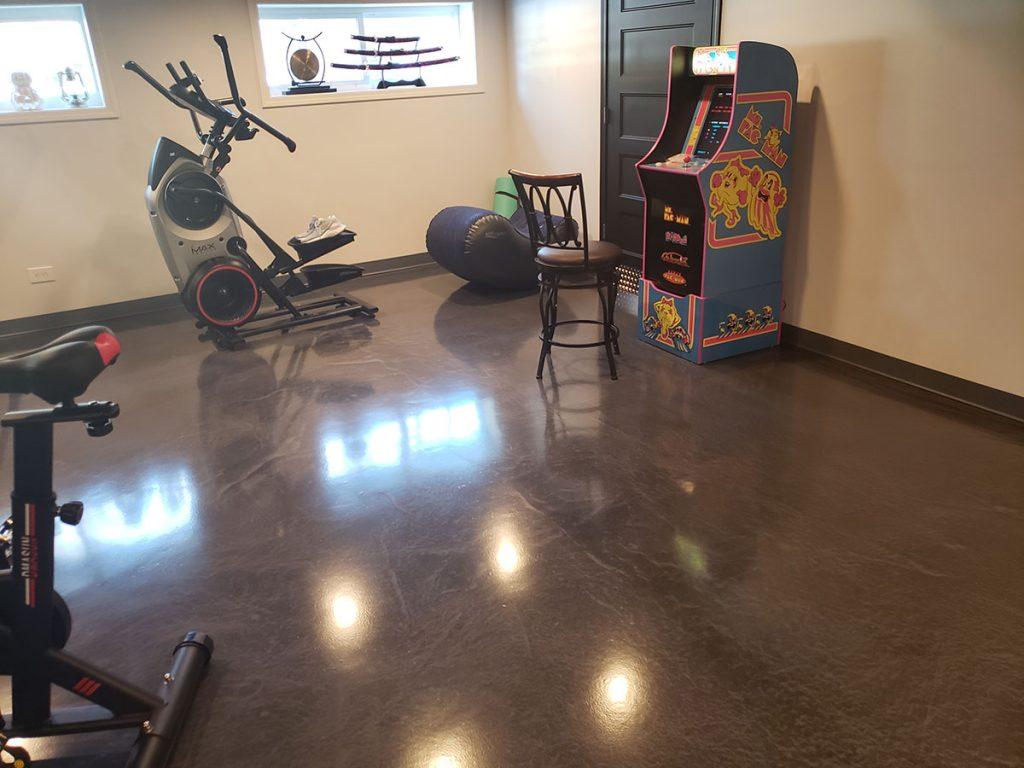 Flossmoor IL Basement Epoxy Flooring