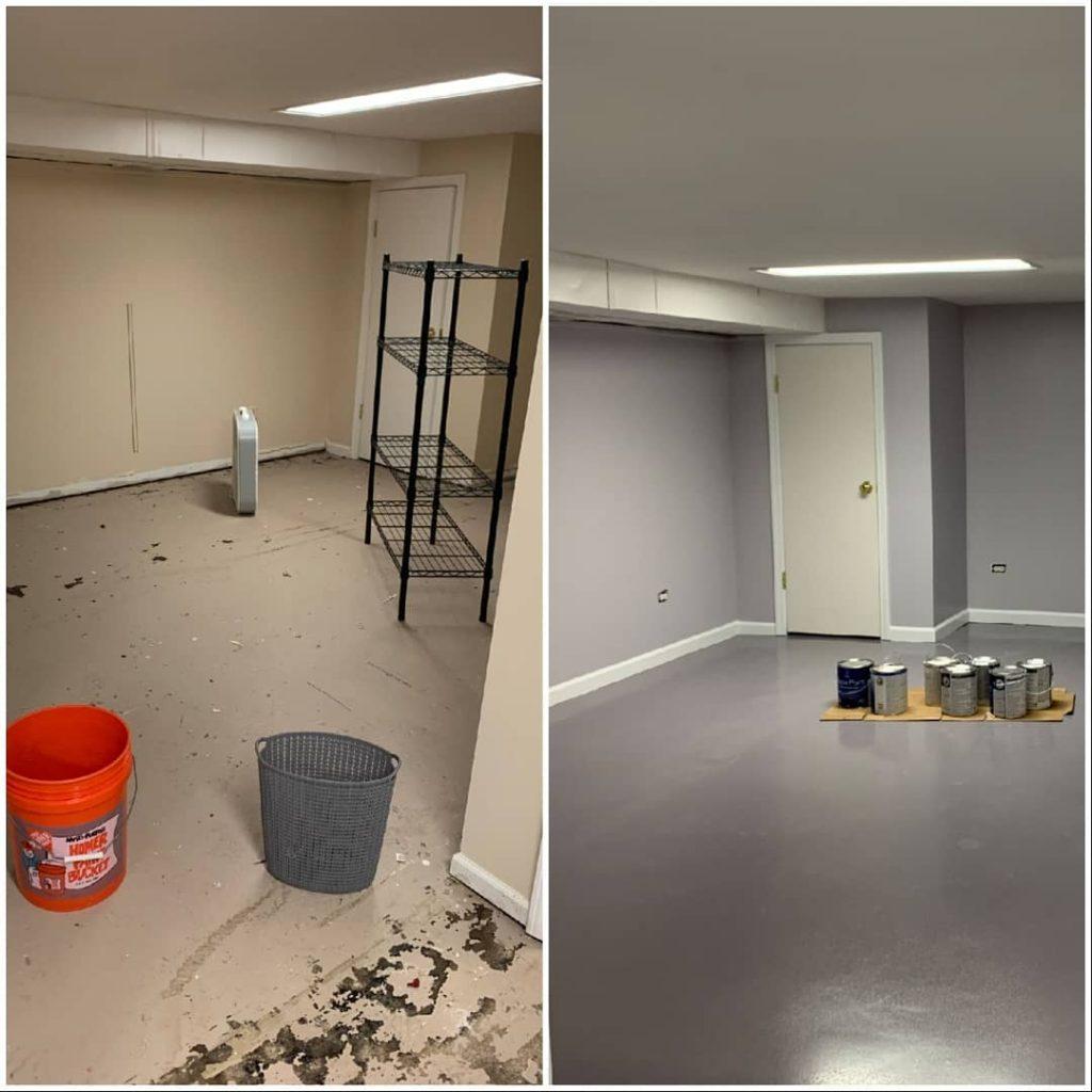 Basement Epoxy Flooring